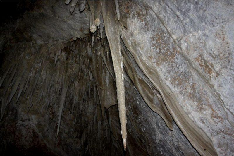 A Palermo si trova la Grotta Abisso della Pietra Selvaggia